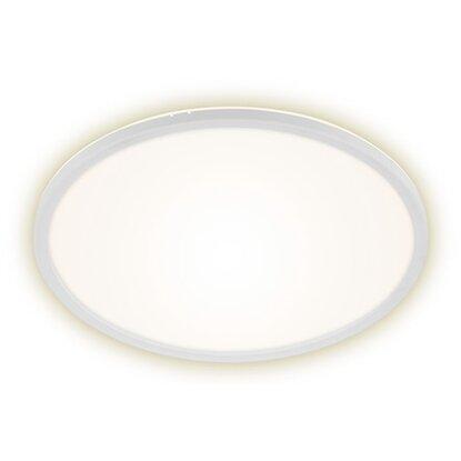 Briloner LED panel s podsvietením plochý guľatý biely, 22 W