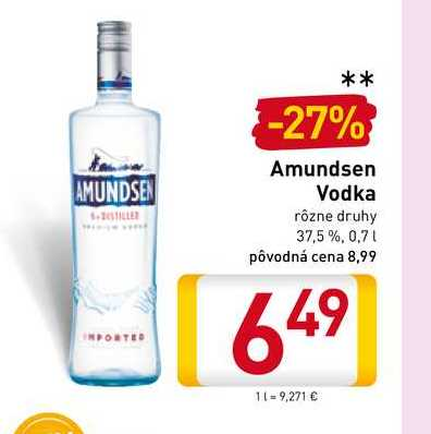 Amundsen Vodka 0,7 l