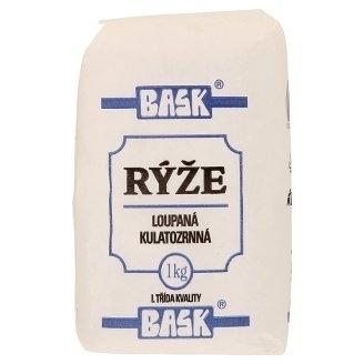 Guľatozrnná ryža Bask