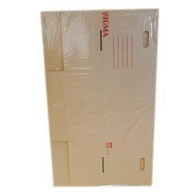 Krabica s vekom L 42x32,5x31cm SIGMA 2ks
