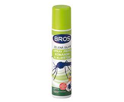 Bros Zelená sila sprej proti komárom a kliešťom 90ml
