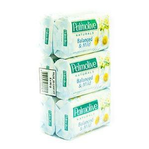 Palmolive Biele toaletné mydlo 6x90 g