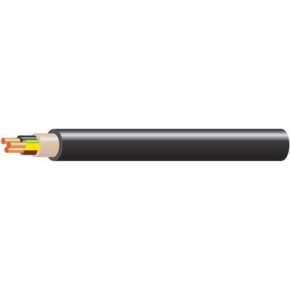 Kábel elektroinštalačný CYKY-J 3 x 1,5 mm2 čierny