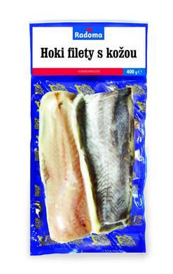 Hoki filety s kožou 400 g