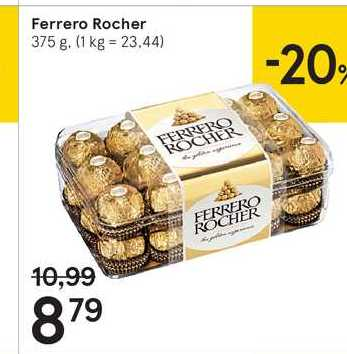 Ferrero Rocher, 375 g