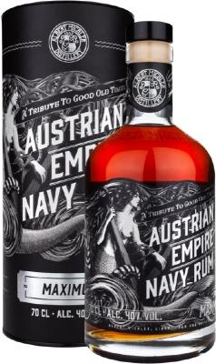 Austrian Empire Navy Rum Maximus 40% 0,70 L
