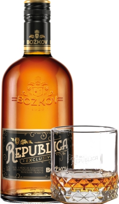 Božkov Republica Exclusive 38% 0,70 L