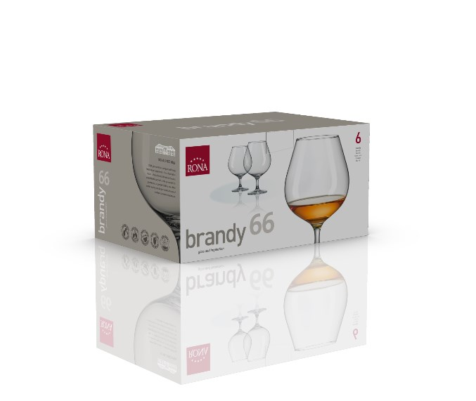 Pohár na brandy Gala 400ml Rona 6ks