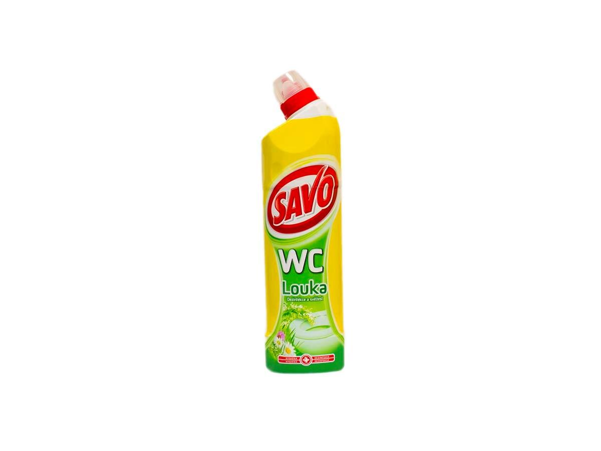 Savo wc čistič vôňa lúky 1x750 ml