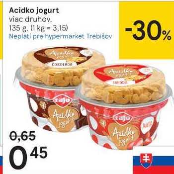 Acidko jogurt, 135 g