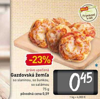 Gazdovská žemľa 75 g