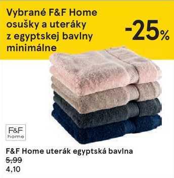 F&F Home uterák egyptská bavlna