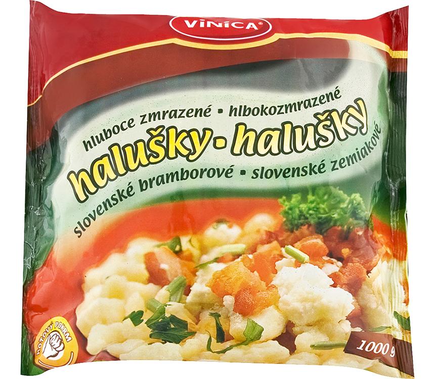 Slovenské zemiakové halušky