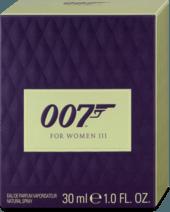Parfumovaná voda 007 for Women III, 30 ml