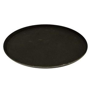 Podnos polyform okrúhly 41cm čierny 1ks