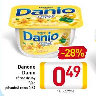 Danio Danone 130 g