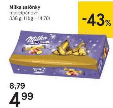 Milka salónky, 338 g