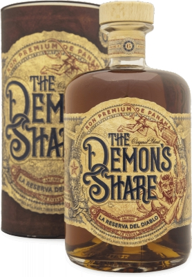 The Demon's Share Rum 40% 0,70 L Gift