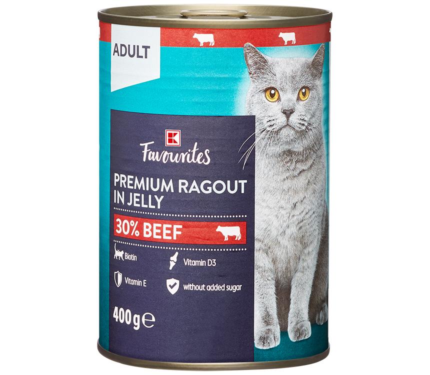 Krmivo pre mačky v želé