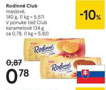 Rodinné Club, 140 g