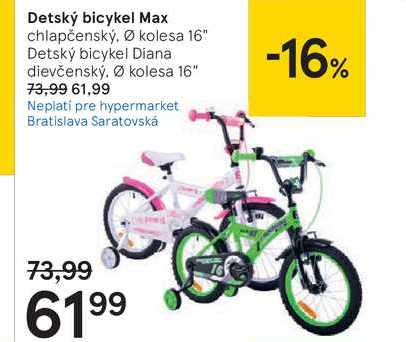 Detský bicykel Max