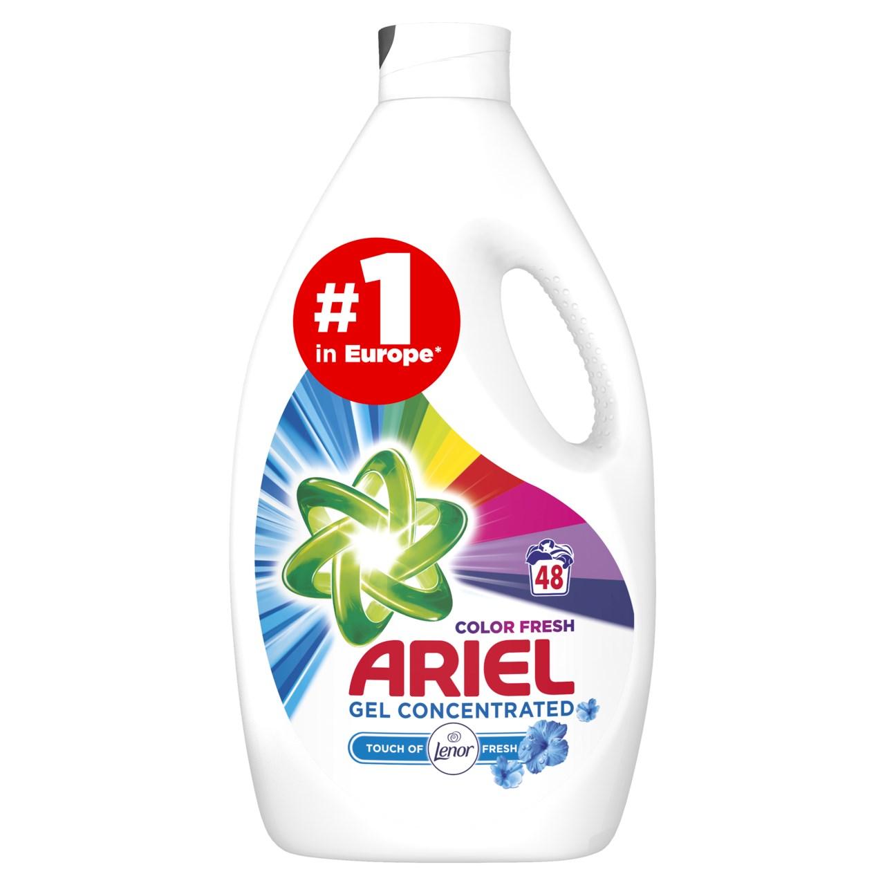 Ariel Touch of Lenor prací gél 48 praní 1x2,64 l