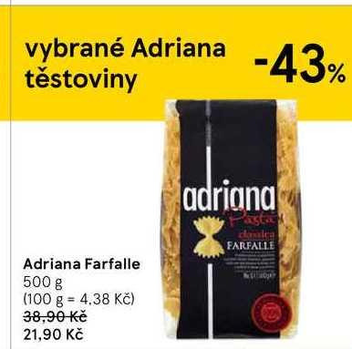 Adriana Farfalle, 500 g