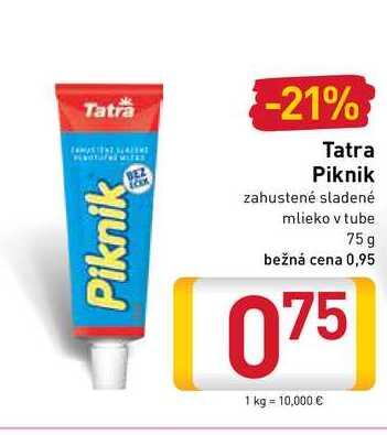 Tatra Piknik 75 g