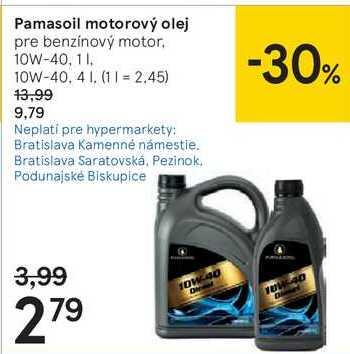 Pamasoil motorový olej, 1 l