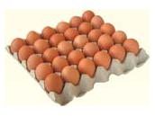 Vajíčka L, 1 ks