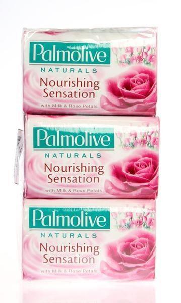 Palmolive Ružové toaletné mydlo 6x90 g