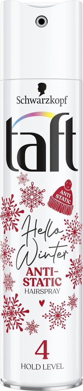 Taft Hello Winter 4 lak na vlasy 1x250 ml