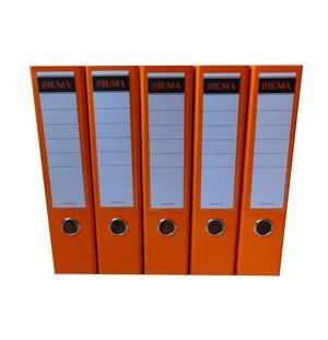 Šanón/zakladač A4/8cm pákový oranžový SIGMA 5ks