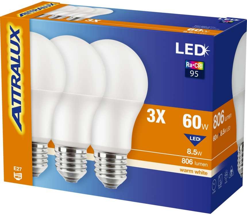 LED žiarovky A60