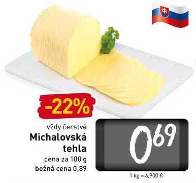 Michalovská tehla  100 g