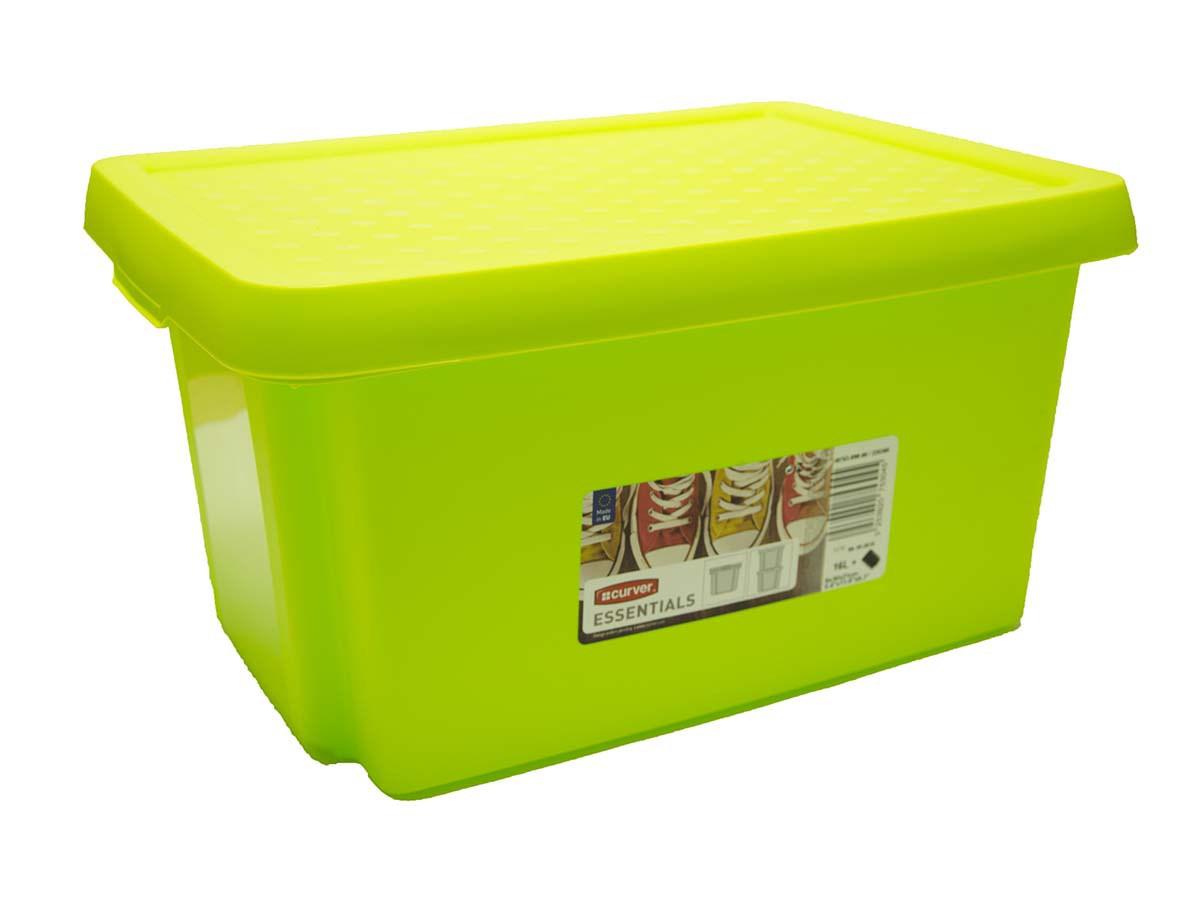 Box úložný Essentials 16l zelený Curver 1ks
