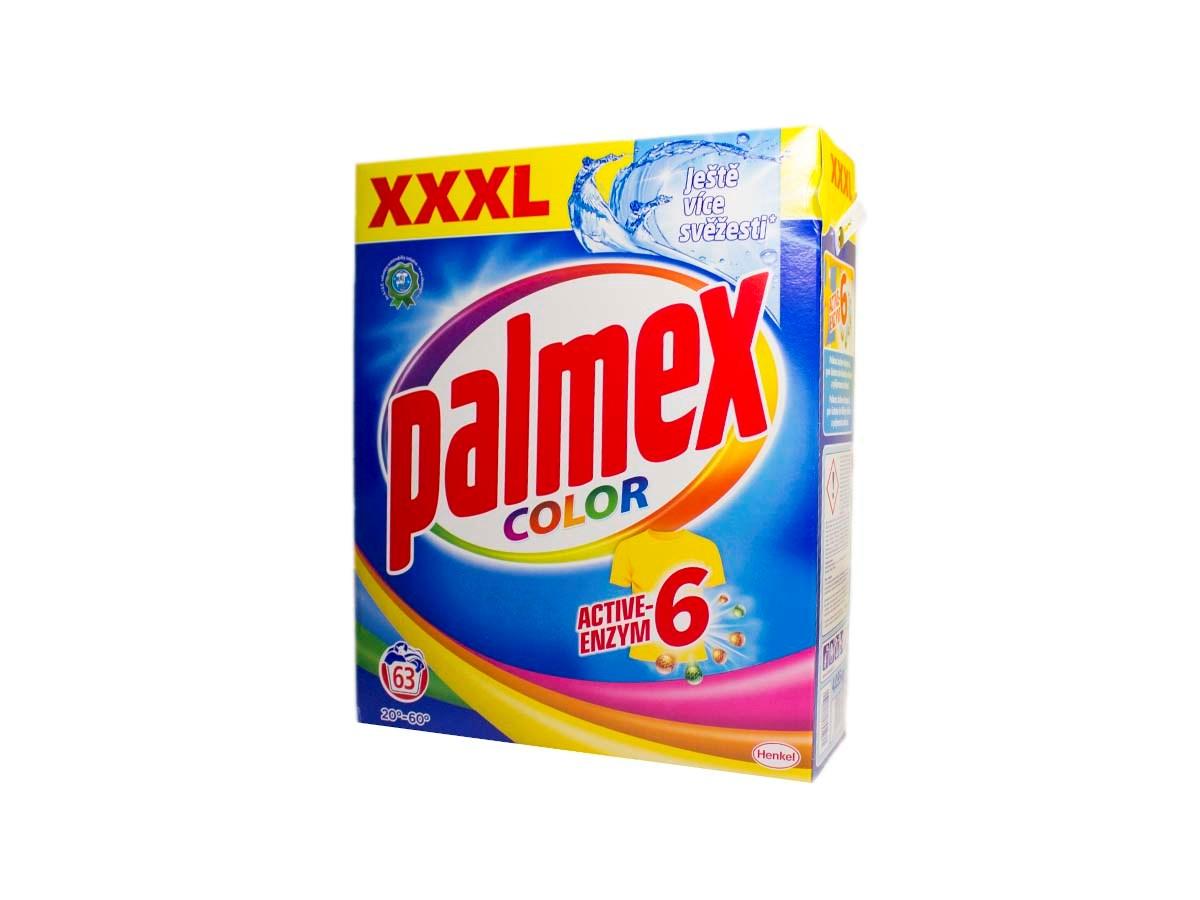 Palmex Color prací prášok 63 praní 1x1ks