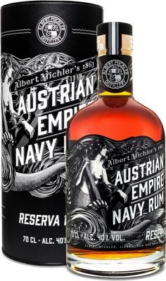 Austrian Empire Navy Rum Reserva 1863 40% 0,70 L
