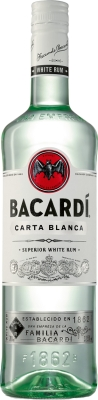 Bacardi Carta Blanca 37,5% 1,00 L