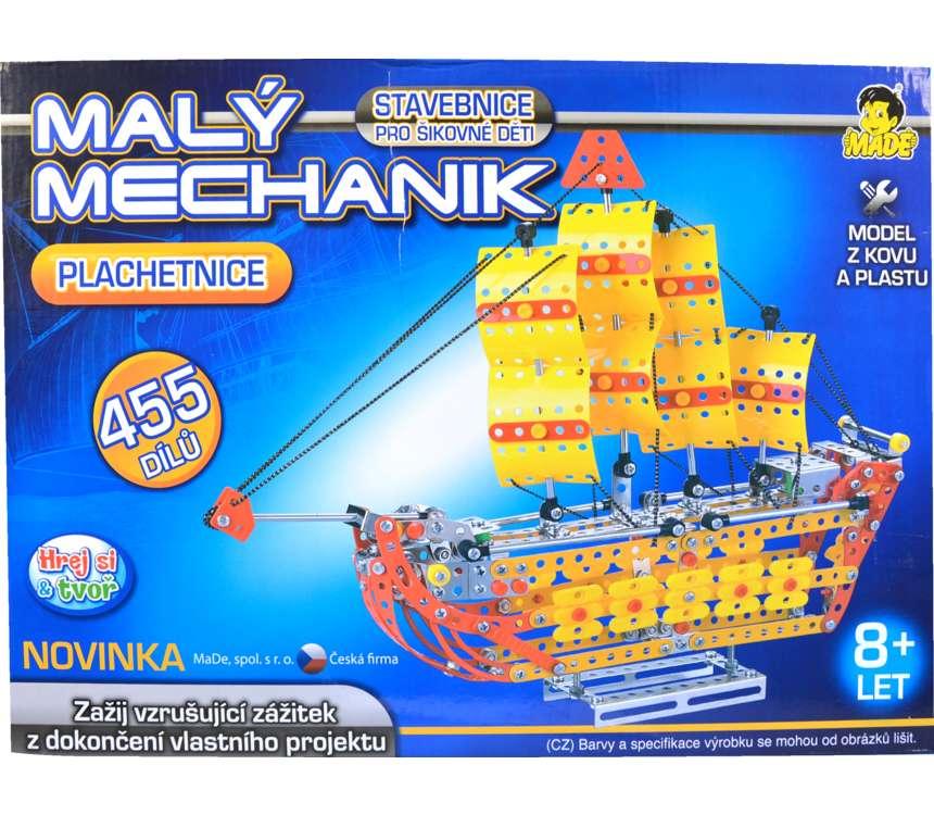 Stavebnica Malý mechanik - Loď