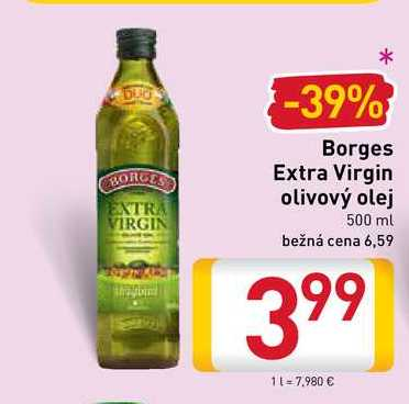 Borges Extra Virgin olivový olej  500 ml