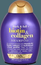 Šampón pre husté vlasy Biotin & Collagen, 385 ml
