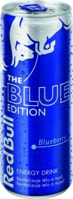 Red Bull Blue (Čučoriedka) 0,25 L plech