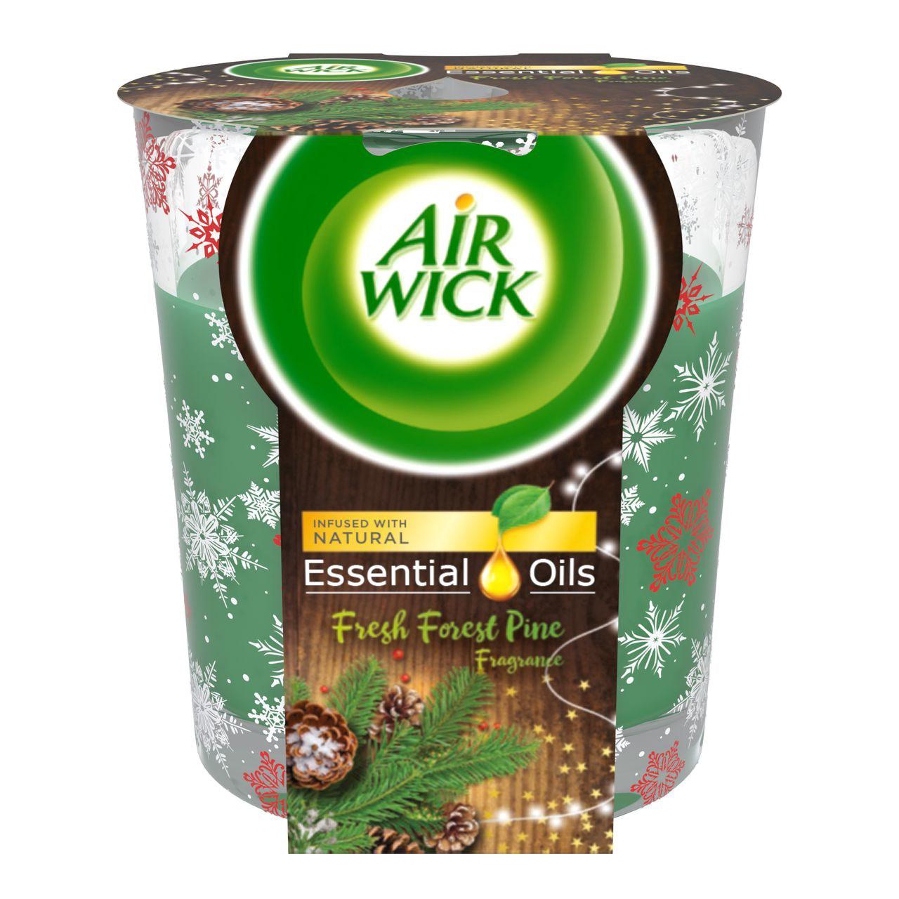 Air Wick Borovicový les sviečka 1x105 g