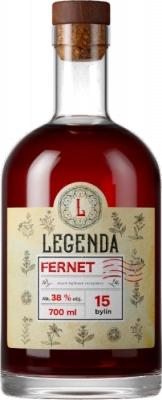 Legenda Fernet 38% 0,70 L