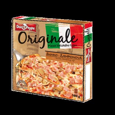Pizza šunka a šampiňóny 380g