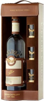 Beluga Allure 40% 0,70 L Gift s 3 pohárikmi
