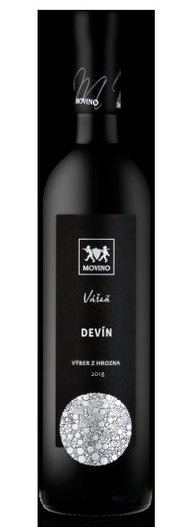 Víno Vášeň Devín biele polosuché,...