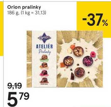 Orion Pralinky, 186 g