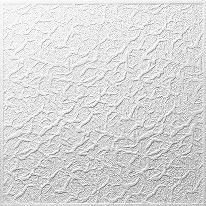 Decosa Stropná doska lisovaná Genova biela